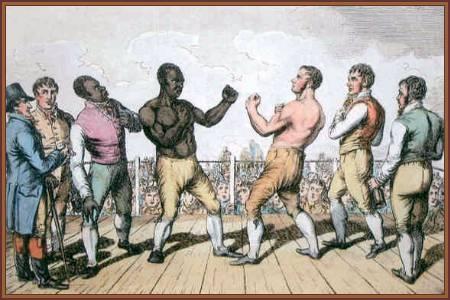 Tom Molyneux V Tom Cribb in Wymondham Sep, 1811