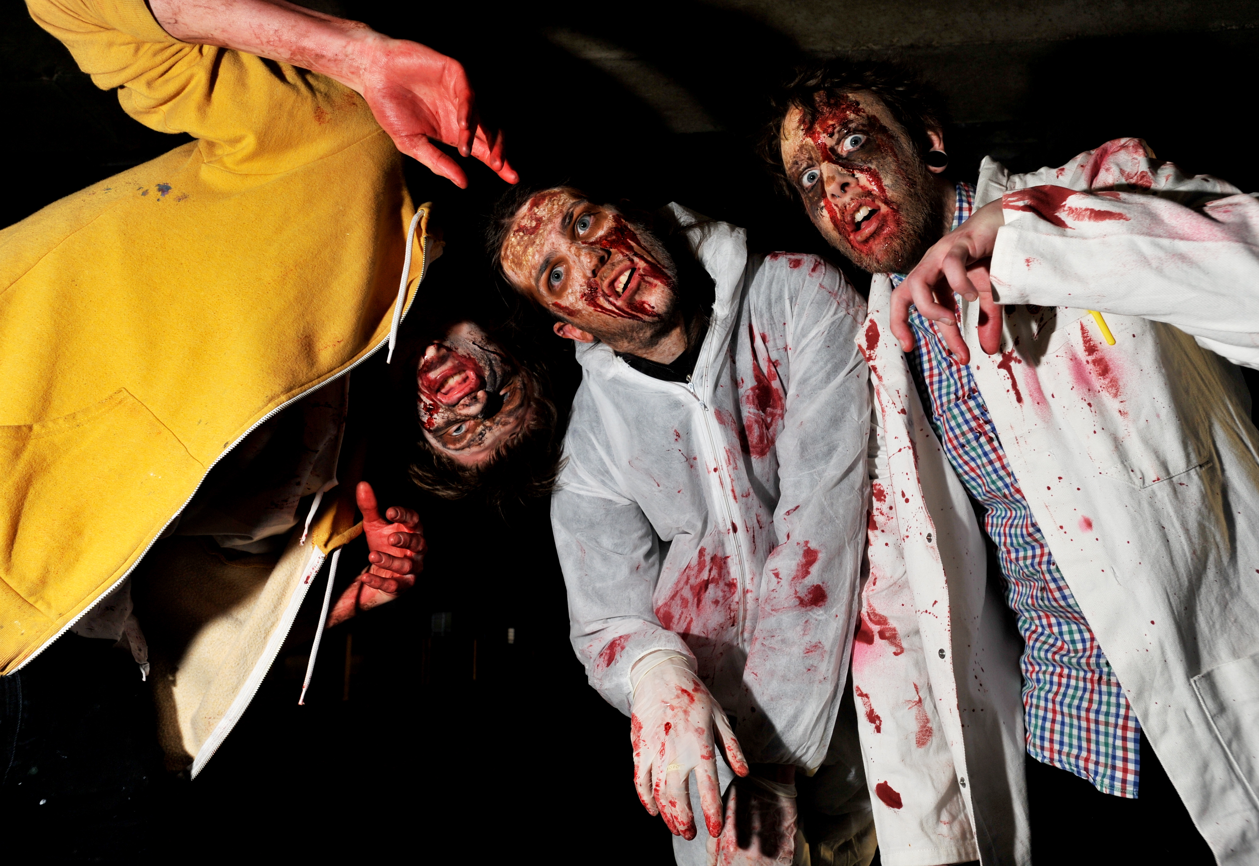 who knew the zombie apocalypse would be so much fun